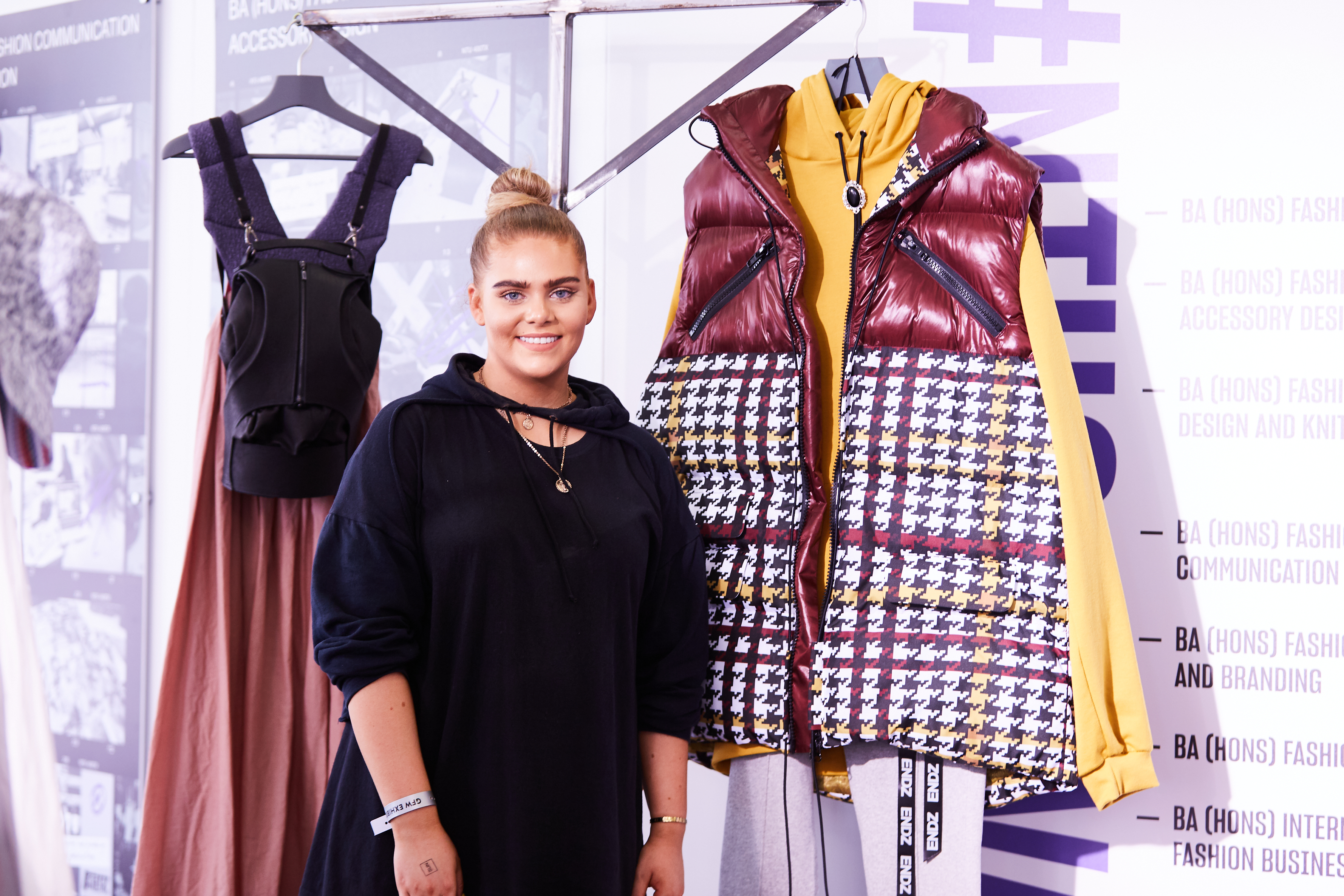Graduate Fashion Week Interview Georgia Rose Lyne Nottingham Trent University Tessuti Blog