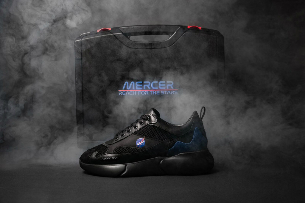 mercer x nasa sneakers
