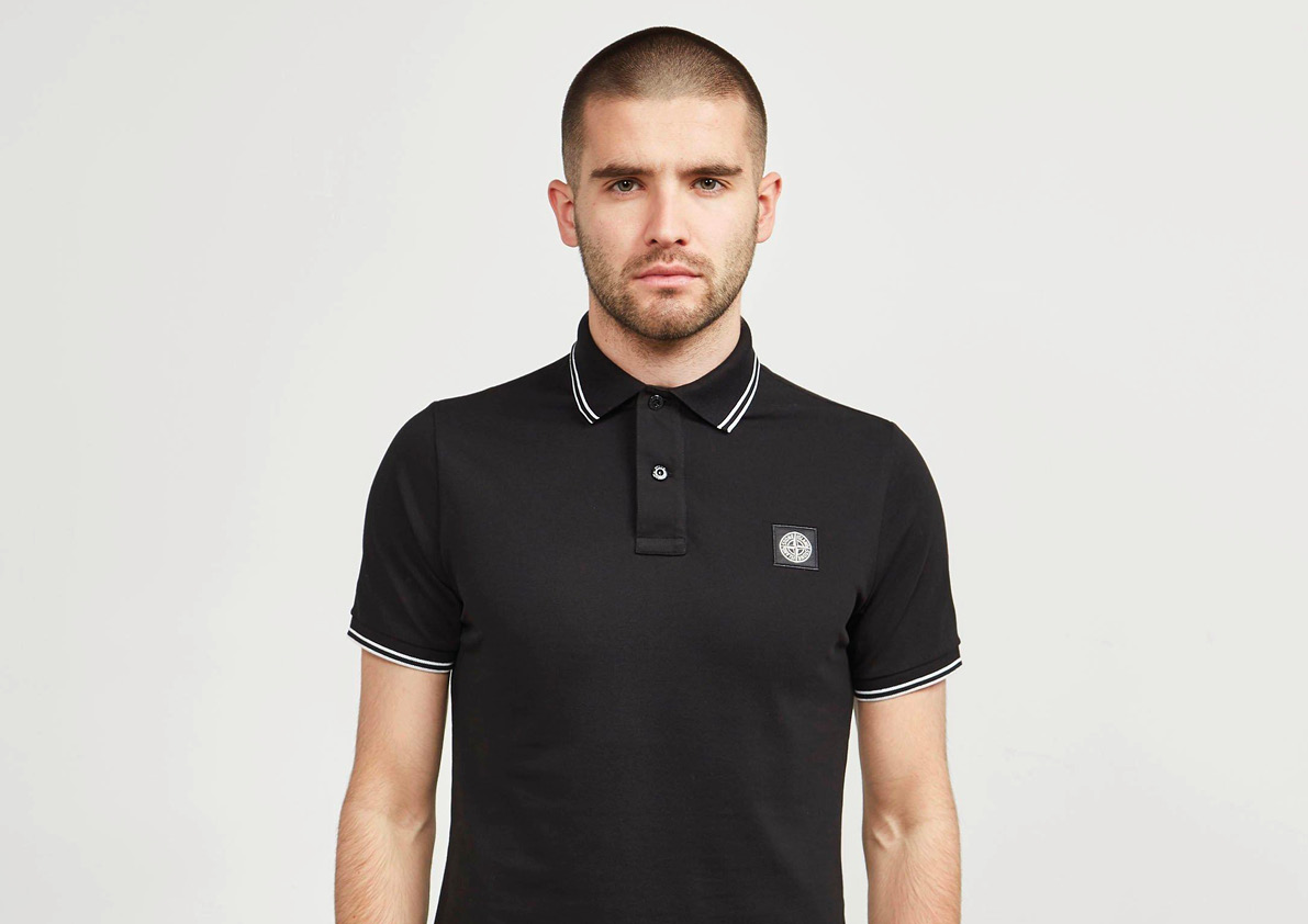Stone Island Tipped Polo Gifitng